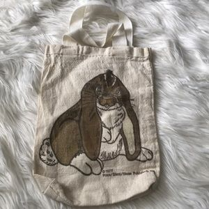 Vintage Leo the Lop canvas bag